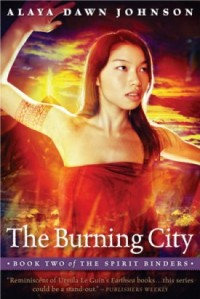 Cover of the novel The Burning City